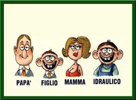 Favoloso Barzellette.net Foto: Ritratto di famiglia CR25