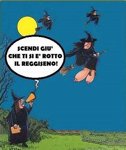 Barzellettenet Foto Befana Sulla Scopa Con Il Seno Cadente