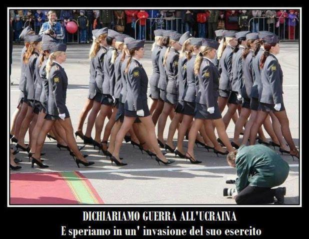 spesso Barzellette.net Foto: Esercito di donne che sta marciando per  AE46