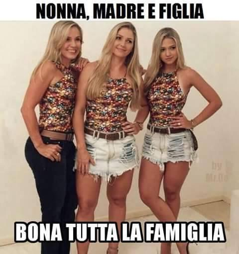 Foto tre belle donne nonna mamma e for Foto di belle donne