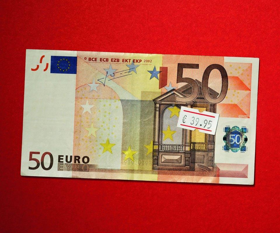Foto banconota da 50 euro prezzata a 39 for Sessel 50 euro