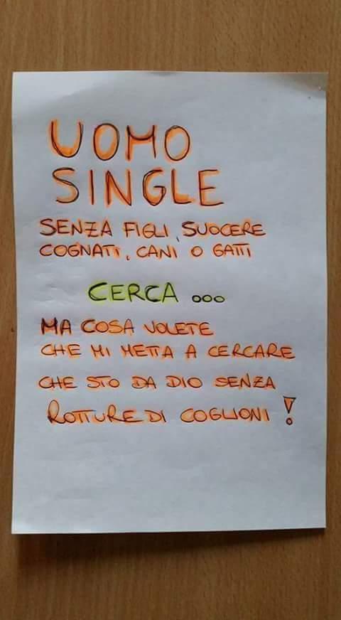 Barzellette.net Foto: Ragazzo single che lascia un appello
