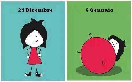 Immagini Dopo Natale.Barzellette Net Foto Ragazza Con Vestito Rosso Prima E Dopo