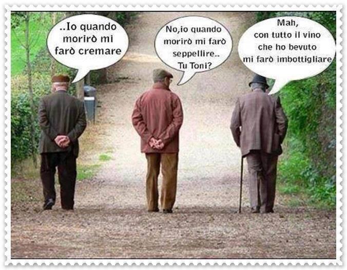 Top Barzellette.net Foto: Tre anziani che discutono su come essere  DJ46