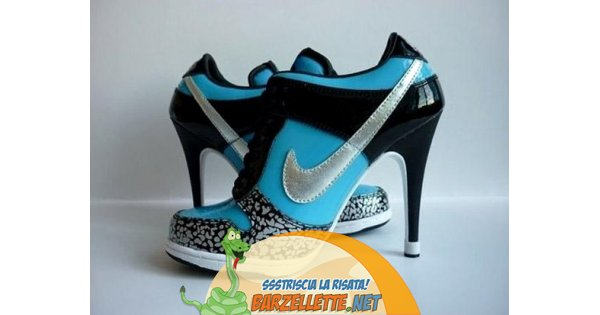 Nike Con Tacchi