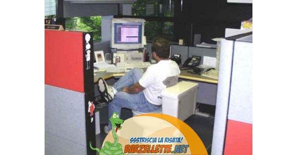 Barzellette.net Foto: Bagno in ufficio...