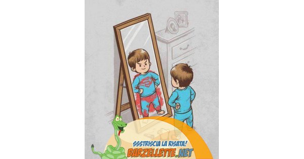 Foto bambino in pigiama si guarda allo specchio e si - Scimmia che si guarda allo specchio ...