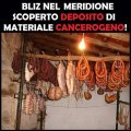 Salumi attaccati al soffitto