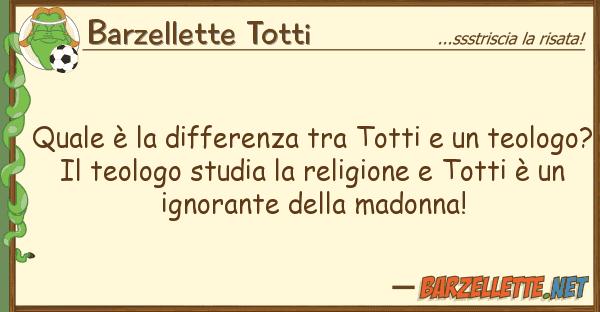Barzellette Totti ? differenza totti teo