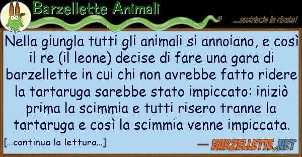 Barzellette Animali giungla animali annoi