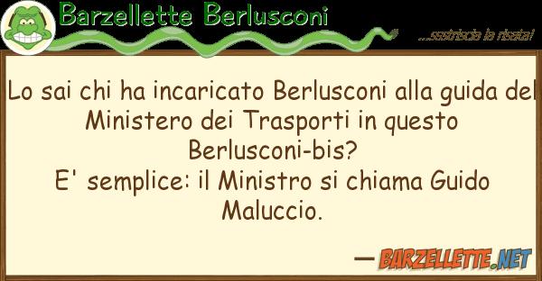 Barzellette Berlusconi sai ha incaricato berlusconi