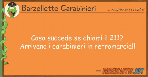 Barzellette Carabinieri cosa succede chiami 211? arrivano