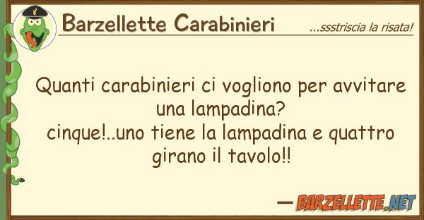 Barzellette Carabinieri carabinieri vogliono avvit