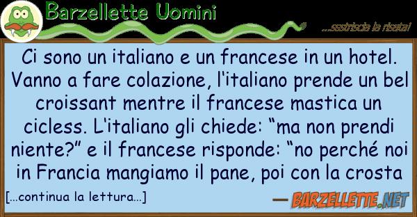 Barzellette Uomini sono italiano francese