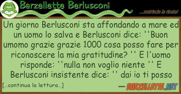 Barzellette Berlusconi giorno berlusconi sta affondando
