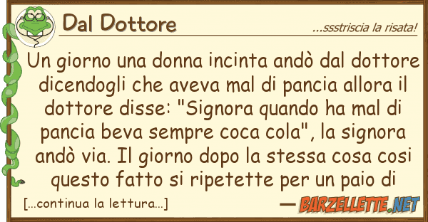 Dal Dottore giorno donna incinta and? dot