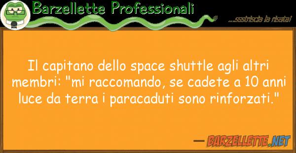 Barzellette Professionali capitano space shuttle alt
