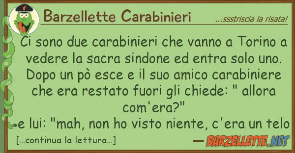 Barzellette Carabinieri sono due carabinieri vanno tori