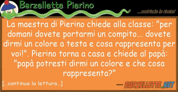 Barzellette Pierino maestra pierino chiede classe