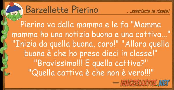 """Barzellette Pierino pierino va mamma fa """"mamma"""
