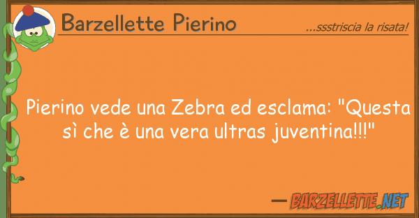 """Barzellette Pierino pierino vede zebra esclama: """"ques"""