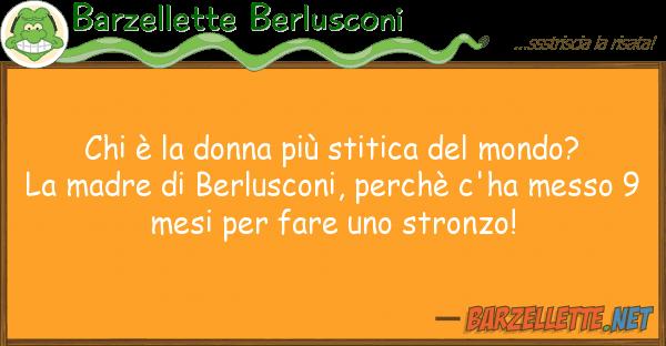 Barzellette Berlusconi ? donna pi? stitica mondo?