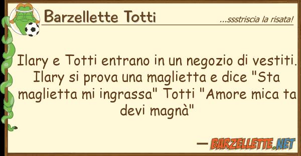 Barzellette Totti ilary totti entrano negozio v