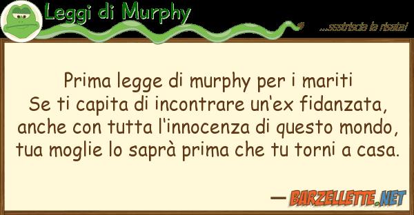 Barzelletta prima legge di murphy per i mariti se ti - Legge sulla prima casa ...