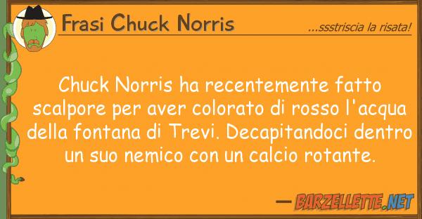 Frasi Chuck Norris chuck norris ha recentemente fatto scalp