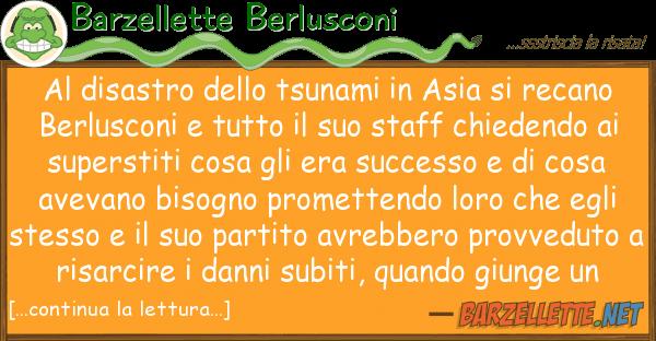 Barzellette Berlusconi disastro tsunami asia rec