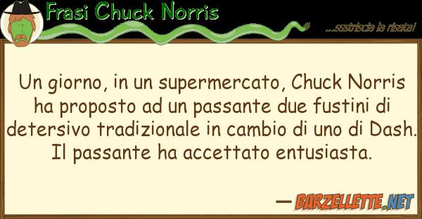 Frasi Chuck Norris giorno, supermercato, chuck nor