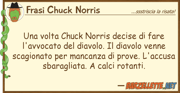 Frasi Chuck Norris volta chuck norris decise fare l'