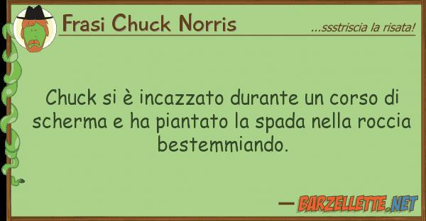 Frasi Chuck Norris chuck ? incazzato durante corso
