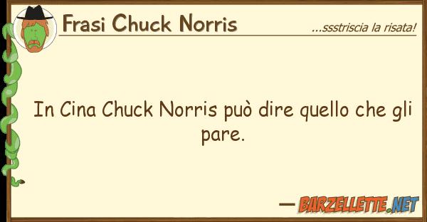 Frasi Chuck Norris cina chuck norris pu? dire