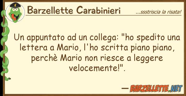 "Barzellette Carabinieri appuntato collega: ""ho spedito"