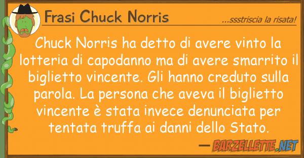 Frasi Chuck Norris chuck norris ha detto avere vinto