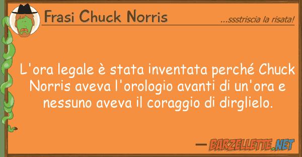 Barzelletta L Ora Legale è Stata Inventata Perché Chuck