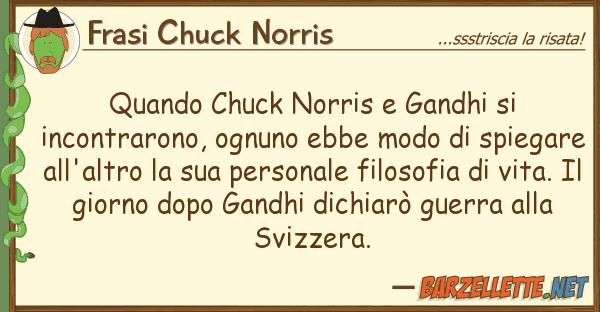 Frasi Chuck Norris quando chuck norris gandhi incontra