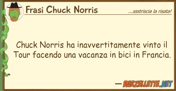 Frasi Chuck Norris chuck norris ha inavvertitamente vinto