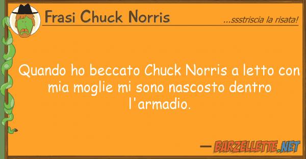 Barzelletta quando ho beccato chuck norris a letto con - A letto con mia moglie ...