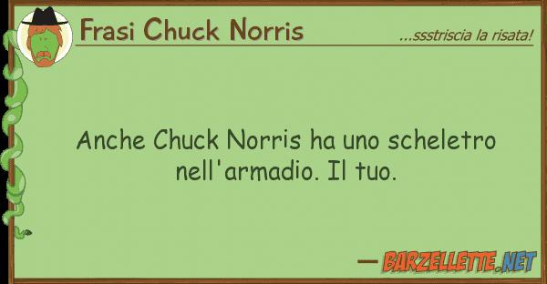 Frasi Chuck Norris chuck norris ha scheletro