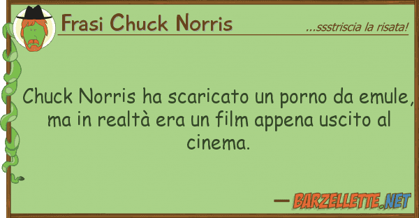 Frasi Chuck Norris chuck norris ha scaricato porno em