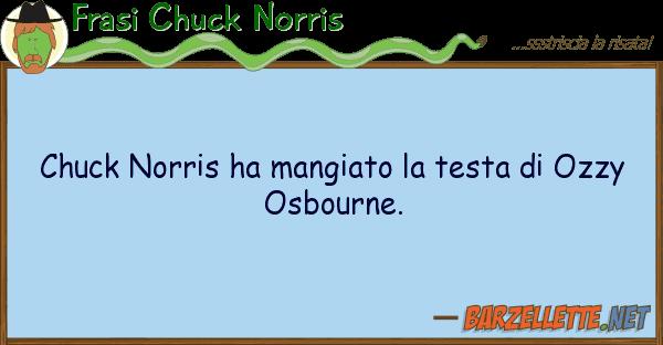 Frasi Chuck Norris chuck norris ha mangiato testa ozz