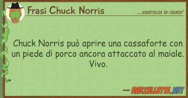 Frasi Chuck Norris chuck norris pu? aprire cassaforte