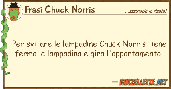 barzelletta per svitare le lampadine chuck norris tiene. Black Bedroom Furniture Sets. Home Design Ideas