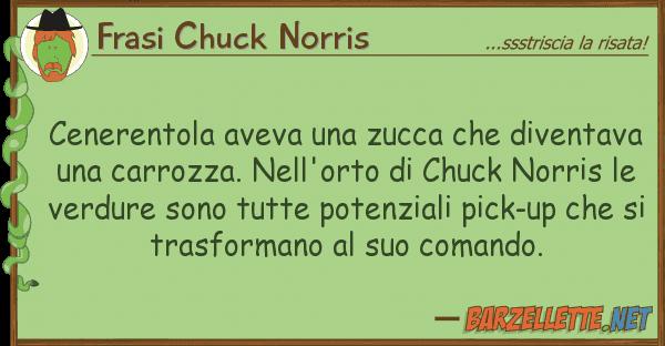 Frasi Chuck Norris cenerentola aveva zucca diventav