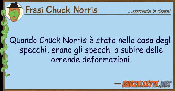 Barzelletta quando chuck norris stato nella casa degli - Casa degli specchi ...