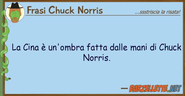 Frasi Chuck Norris cina ? un'ombra fatta mani