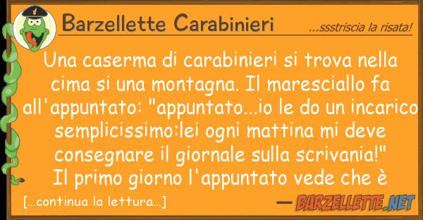 Barzellette Carabinieri caserma carabinieri trova