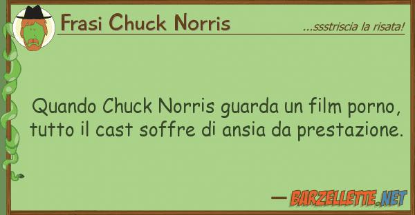 Frasi Chuck Norris quando chuck norris guarda film porno